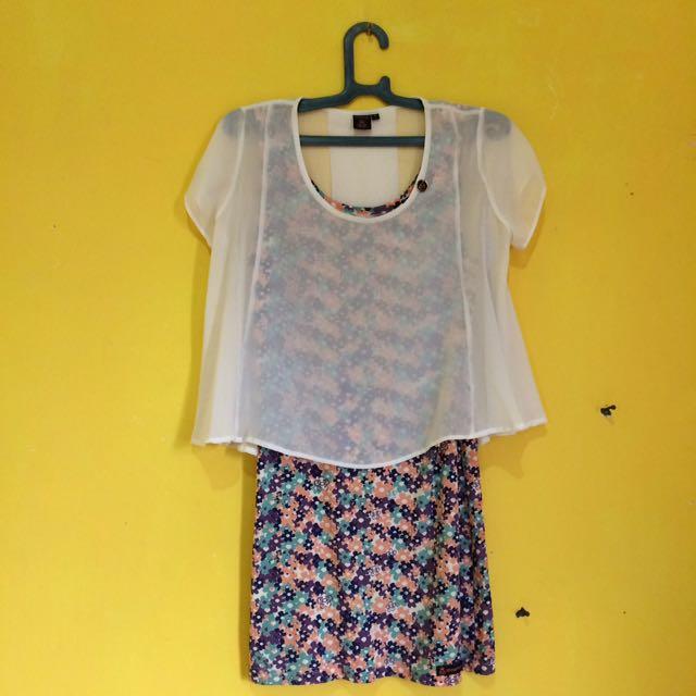 Spyderbilt Mini Dress