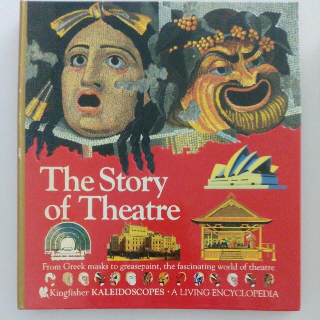 Kids Illustrated Story Of Theatre Gift Book