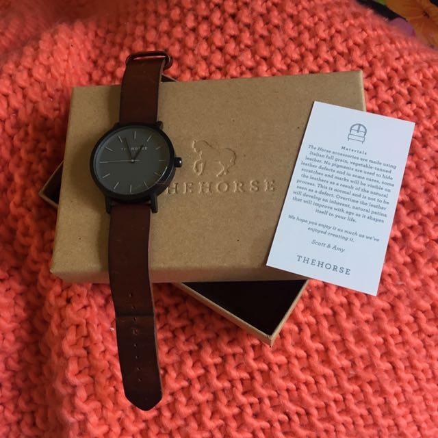 The Horse Leather Watch