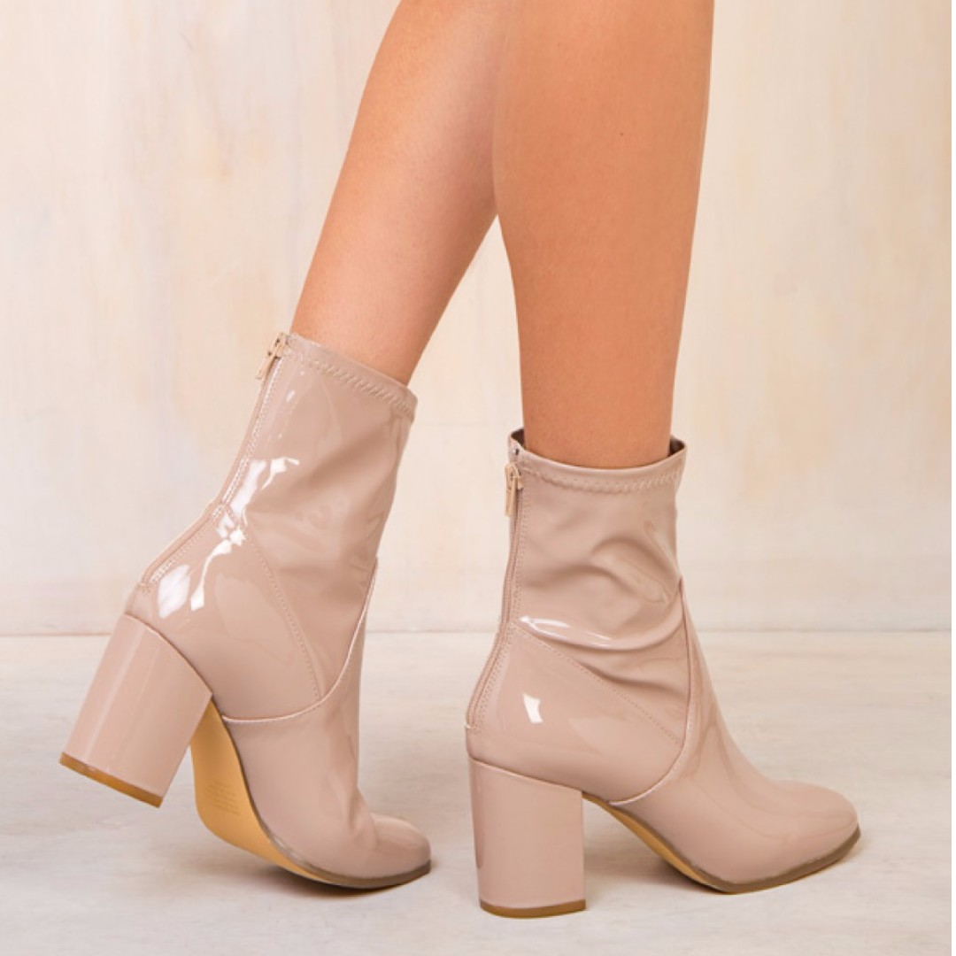 Therapy Beige Hoxton Boots