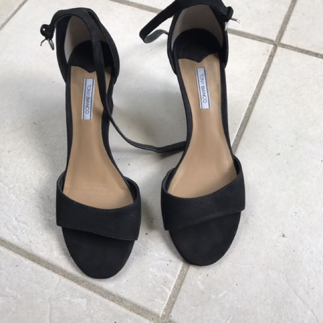 Black On Carousell Tony Bianco FashionShoes WedgesWomen's N8O0wPXnk