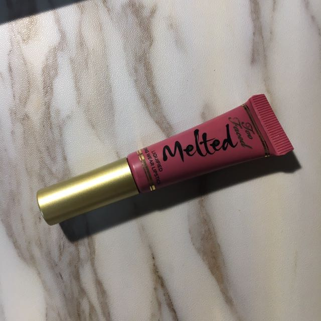 Too Faced Liquified Long Wear Lipstick #chihuahua
