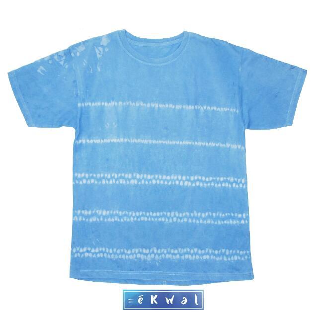 Tshirt Shibori Indigo