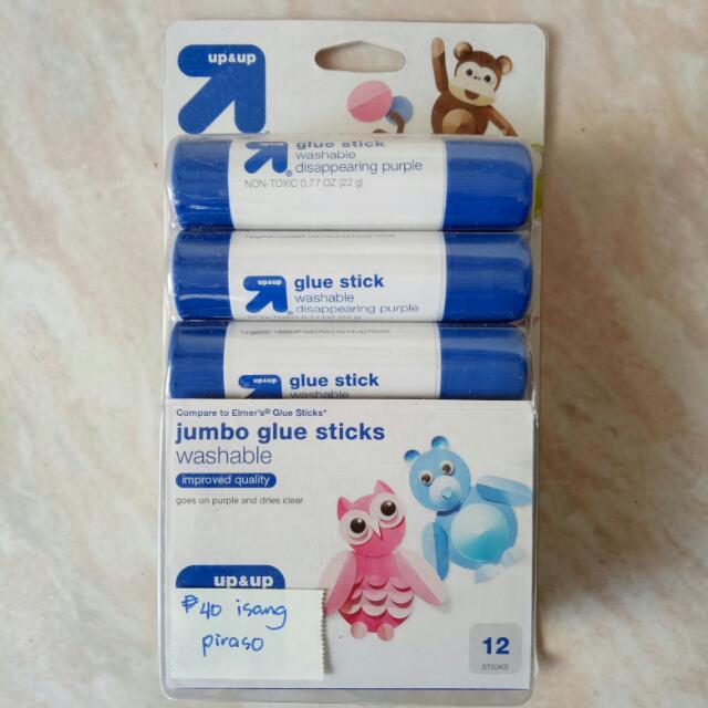 Up&up Jumbo Glue Stick 12 Sticks 22g Each