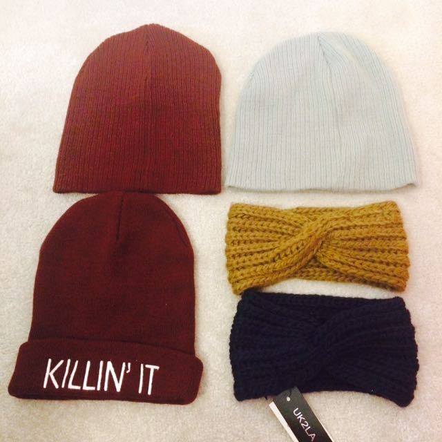 Various Hats/Headwrap