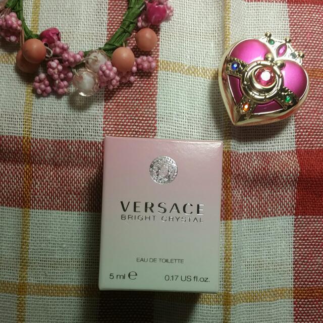 versace 香戀水晶迷你小香水 5ml #我有香水要賣