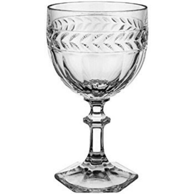 Villeroy & Boch Crystal Wine Goblets x2