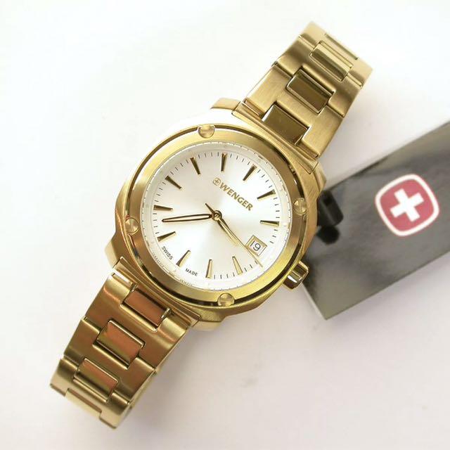 Wenger Gold Watch