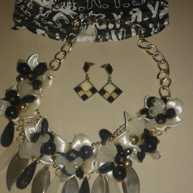 Your Rule Your Style Ear Rings And Necklace
