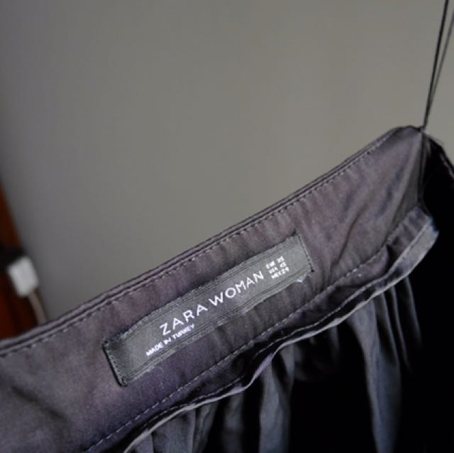 Zara - Midi A Line Skirt