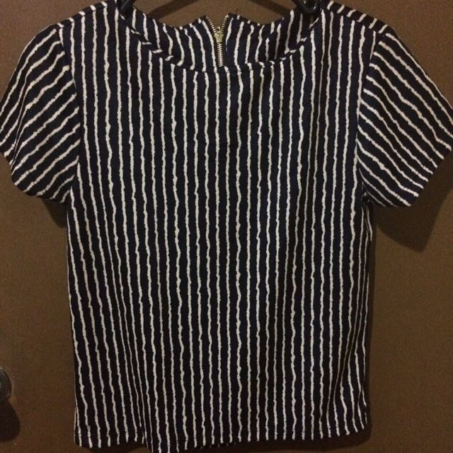 Zip back blouse (Small)