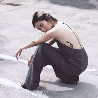 YHF T-Zone Jumpsuit GREY