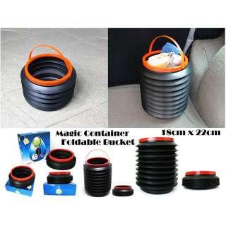 Magic Container - Foldable Plastic Bucket