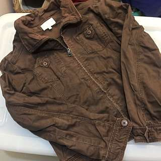 ❤️Pre-loved❤️Chocolate Brown Jacket