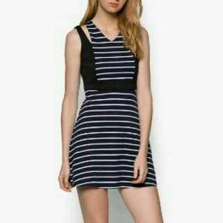 歐美品牌棉質洋裝M碼