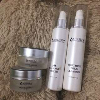 paket melilea botanical skin care