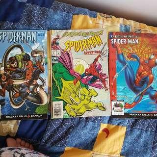 Spiderman Comics / Magazines