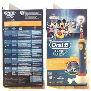 Oral-B Stages Power (Music Timer)