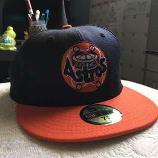 New Era Astros Hat 7 1/4