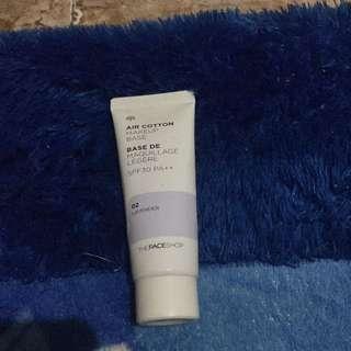 The Face Shop Air Cotton Make Up Base Lavender