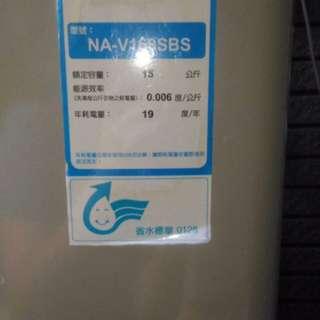國際牌不繡鋼15kg洗衣機