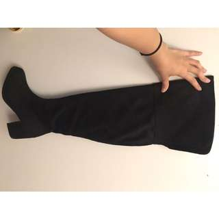 Over The Knee Boots Size 5.5 Womens