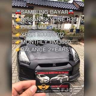 NISSAN GTR SKYLINE R35