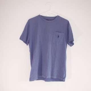 Ralph Lauren Custom Fit Cotton T-Shirt (Liberty Blue)