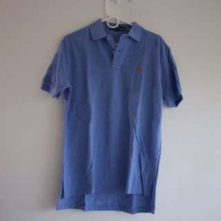 Ralph Lauren Classic fit Cotton Polo Shirt (baby blue)