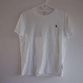 Ralph Lauren Classic fit Cotton T-Shirt (White)