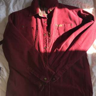Red light spring jacket