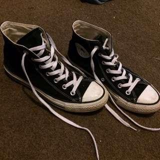 Converse Hi Tops Black