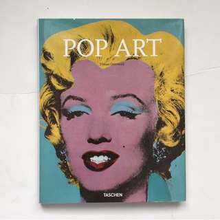 POP ART coffee table book