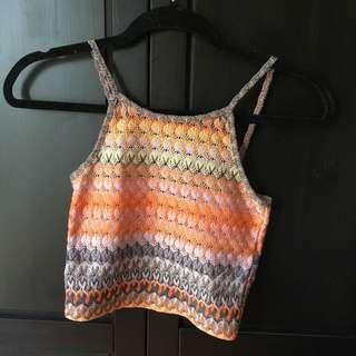 Topshop Knit Crop Top