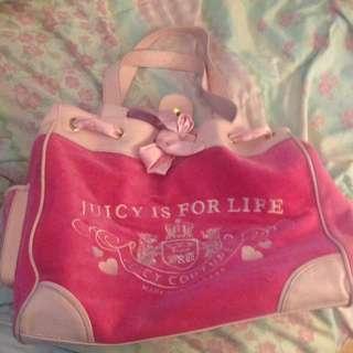 Juicy Couture Authentic Velour Bag
