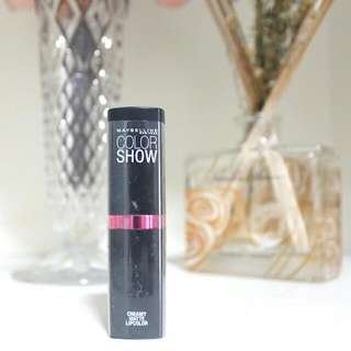 (PRICE REDUCED) MAYBELLINE Color Show Creamy Matte Lipstick in Pop Of Pink