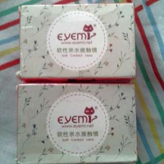 Eyemi Soft Contact Lens (Red/Graded)