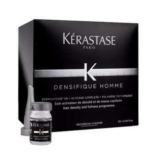 Kerastase Paris Densifique Homme Hair Density and Fullness Programme 30x0.2oz 30 x 6ml