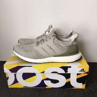 Adidas Ultraboost Pearl Grey/ Olive Copper US 12 (New)