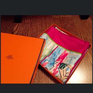 Hermes Scarf 100% Authentic