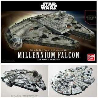 Millennium Falcon Bandai Model Kit