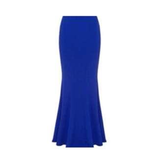 Maxi skirt by SHEIKE BNWT cobalt