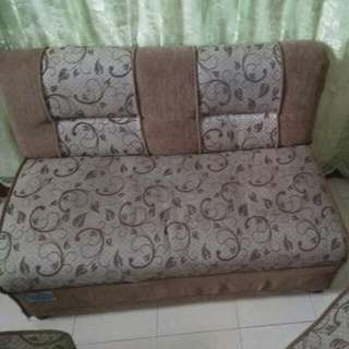 SUPER SALE SOFA SET (ONE LARGE SOFA, TWO SINGLE SIDE SOFA CHAIRS)