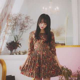 Korea style dress (new)