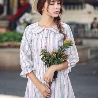 korea style dress(new)L Size
