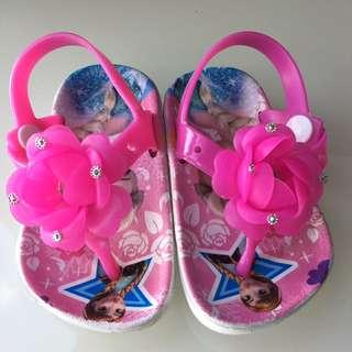 ❤️ Frozen Design Slipper with flower