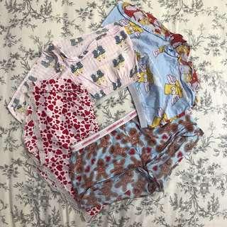 4 X Peter Alexander Pajama Shorts