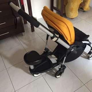 Bugaboo bee + Board Xchange Baby Jogger