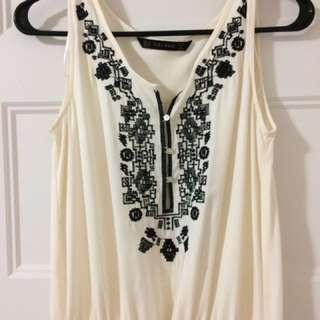 Zara Basics Maxi Dress XS