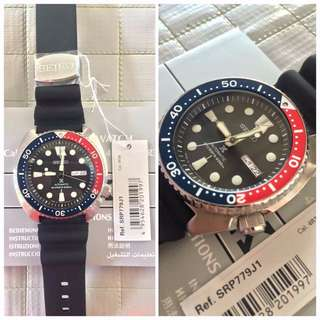 Made in Japan SEIKO PROSPEX TURTLE WATCH SRP779J1